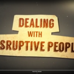 Professional CPD: Dealing with Disruptive People